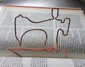 Sewing machine bookmark
