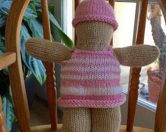Baby Girl Stuffed Toy
