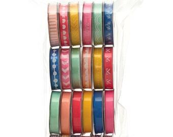 24-pk American Crafts Premium Ribbon 'Dear Lizzy - Day Dreamer' Twine + Ribbon Gift Tags Scrapbook 366798