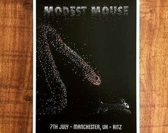 Modest Mouse Manchester - Prey poster