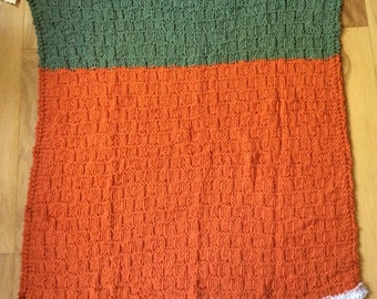 Frosted Pumpkin Baby Blanket