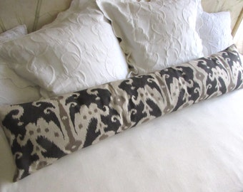 decorative bolster pillow 12x54  casbah mink also in many other fabrics