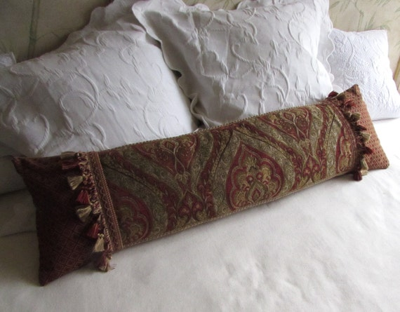 Long Decorative Pillows : extra long decorative bolster pillow 11x40 includes insert