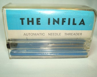 1950s INFILA Automatic Needle Threader Made in Italy .