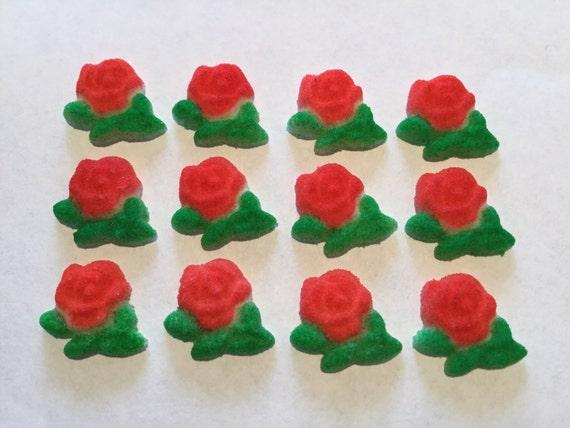 Edible Rose Cake Decoration : Rose Sugar Layons Edible Roses Cake Decorating by ...