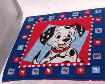 XS dalmation dog blanket