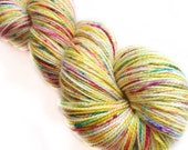 MyPrecious Colour Bomb - Sparkle merino - Handdyed fingering weight yarn wool nylon stellina