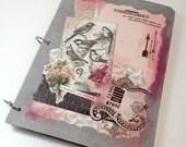 The Vintage Postcard - Vintage Victorian Junk Journal, Smash Book, Scrapbook