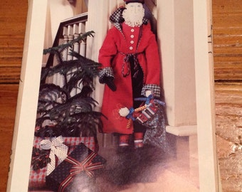 Elinor Peace Bailey ST.  NICHOLES  Santa Cloth Doll Sewing Pattern