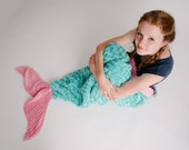 Child up to Adult Size Mermaid Tail Blanket- Mermaid Tail Sleep Sack- Purple Pink- Large Size Mermaid Tail- MINKY- Ships out in 1-3 days-