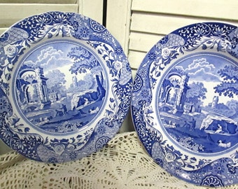 Vintage Spode Luncheon Plates