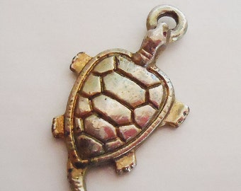 Japanese Turtle Traditional Lucky Money Charm.70s.Little
