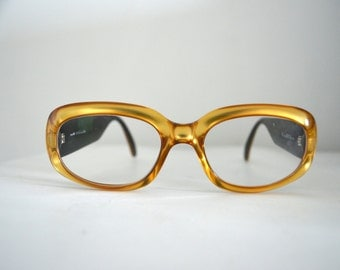 Vintage Authentic CHRISTIAN DIOR Bifocal Glasses Sunglasses Gold Plastic Frame CD 40c Austria Limited Edition