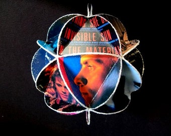 The Police Band Album Cover Ornament Made Of Record Jackets: Sting