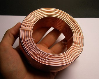 Aluminum wire 12 gauge-  2mm - 164 foot  roll - good quality - copper - 50 meters - ALR2