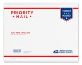 USPS Priority mail upgrade for your mini print order
