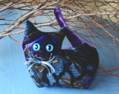 Up-cycled Lavender Kitten