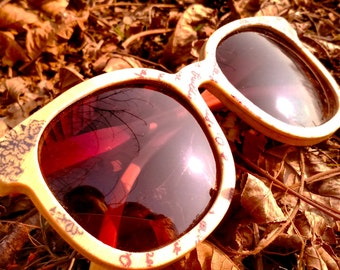 Custom AAAA bamboo TAKEMOTO handmade glasses MJX1601    only one