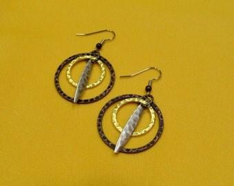 Ann Marie's Dream Copper/Multi Earrings (Style #430)
