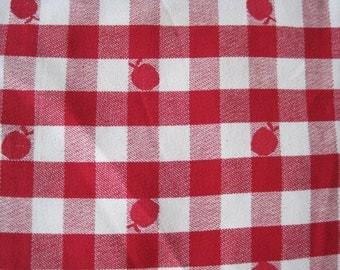 Apple Tablecloth Etsy