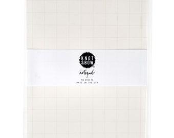 Favorite Notepad / Grey Grid