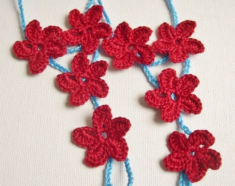 CrocheBarefoot Sandals, Hawaiian flower Barefoot sandles, foot jewelry, Beach Wedding, Bridesmaid gift, Beach, Anklet, Summer Wedding shoes