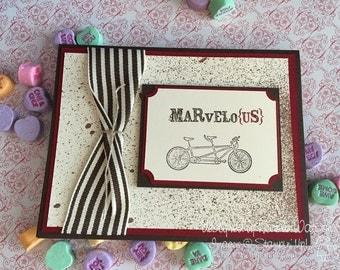 Marvelo{us} - Handmade Valentine/Anniversary Card