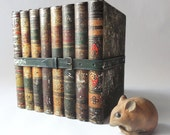 Vintage Huntley & Palmers Library Book Biscuit Tin