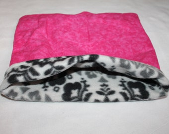 LARGE Pink Paisley  pouch for Guinea pigs, Chinchillas, Rats, Hedgehogs...