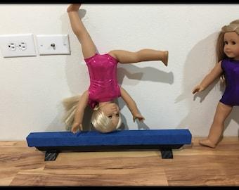 Items Similar To Gymnastics Set For 18 Inch Dolls