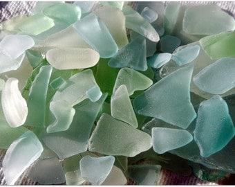 One Pound Mixed Colors  / Wholesale Sea Glass Beach Glass