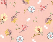 SALE : Posy Aneela Hoey Bouquet peach moda fabric FQ or more
