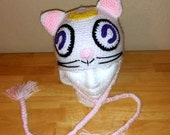 Sailor Moon-Artemis Cat Hat-Unisex-All Sizes-Made to Order