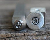 On Sale Sale-Sand Dollar-Metal Stamp-5mm Size-Steel Stamp-New Metal Design Stamps-by Metal Supply Chick