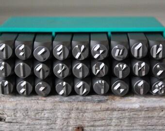 Viking Rune Metal Design Stamp Set-28 -WHOLE SET 6mm Metal Stamp-Metal Supply Chick-VIK28