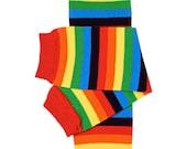 Baby leg warmers, rainbow birthday outfit, newborn, boy, girl, baby crawlers, 1st birthday outfit, cake smash