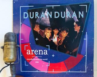 "Duran Duran Vinyl Record 1980s Pop Rock MTV Dance Synthpop ""Arena / Recorded Live Around the World 1984"" (Original 1984 Capitol w/ booklet)"