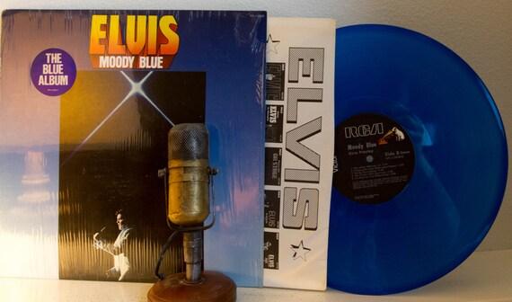 Vintage Vinyl Lp Record Album Elvis Presley Moody