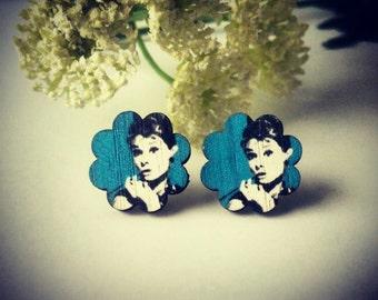 Audrey Hepburn earrings