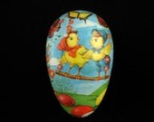 Vintage Papier Mache Easter Egg Made in West Germany