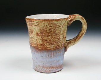 Blue and Beige Mug