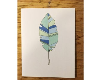 Leaf (folded cards) pack of 5