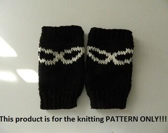 Iron Man Knitting Pattern : Knitting Pattern: Iron Man Fingerless Gloves by DuckyDame on Etsy