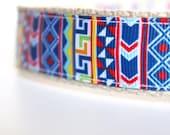 Tribal Dog Collar, Boy Dog Collar, Southwest Dog Collar, Adjustable Dog Collar, Colorful Dog Collar