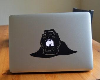 "Aladdin ""Cave of Wonders"" Macbook Sticker"