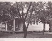 Vintage Photograph - The Hidden House - Vernacular Photograph, Ephemera (A)