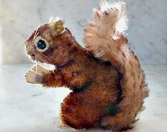 Genuine Steiff Squirrel, Vintage, Great Condition
