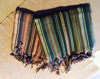 Orange Turkish Towel Turkish Beach Towel Bath Towel Peshtemal Fouta Bridesmaid Gift Wedding Gift Wedding Favor Organic Towel Cotton Towel