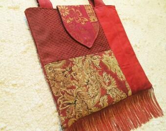 Large Boho Gypsy Hippie Fringe Bag