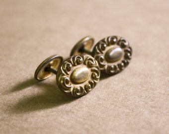 Antique Victorian Cuff links